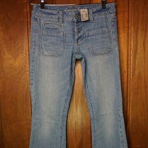 American Eagle Front Pocket Denim Jeans Stretch
